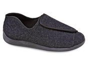 Wrap-around Slipper Charcoal