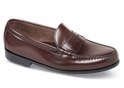 Burgundy Beef Roll Loafer