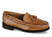 Tan Moccasin Tassel Loafer
