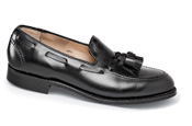 Black Calfskin Dress Loafer