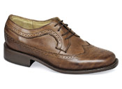 Burnished Tan Kent Brogue
