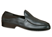 Black Moccasin Rubber Overshoe