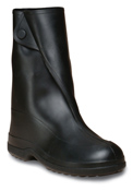 Ten-inch Black Pull-on Overshoe