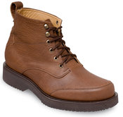Brown Grained Service Chukka