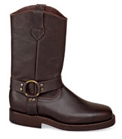 Brown Wellington Harness Boot