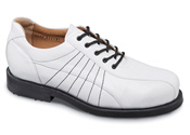 White U-Lace Golf Shoe