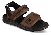 Brown Two Strap Sport Sandal