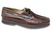 Brown Canoe Boat Moccasin