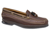 Brown Toggle Lace Boat Shoe