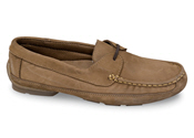 Brown Nubuck Driving Slipper