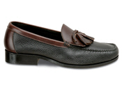 Black/Brown XD Tassel Loafer