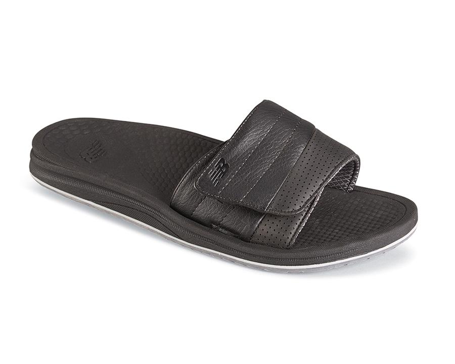 8a85e71a07529 Black PureAlign Recharge Slide | Hitchcock Wide Shoes