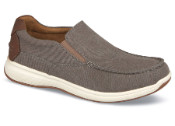 Grey Canvas Great Lakes Slip-on