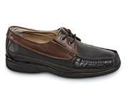 Black/Brown XD Moccasin Tie