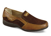 Tan/brown Two-Tone XD Slip-on