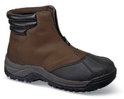 Black/brown Blizzard Mid-Zip