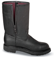 Shock Absorber Black Zip Boot