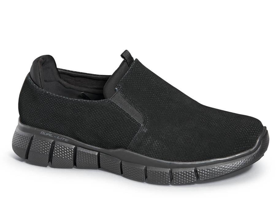 dc8229cb8397d Black Equalizer 2.0 Lodini Slip-on | Hitchcock Wide Shoes