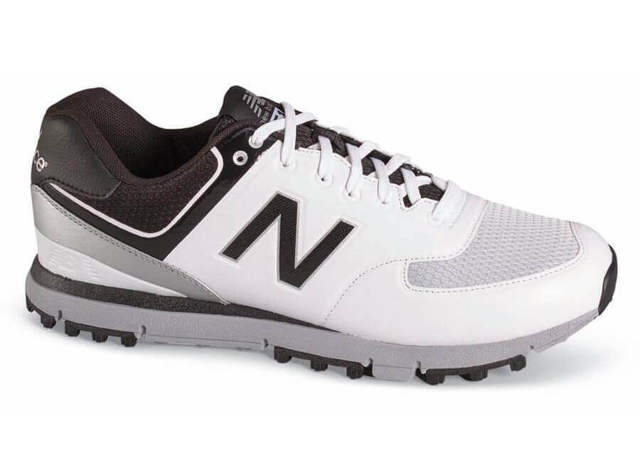 45c6ea5136d0 NEW BALANCE. White black Spikeless Golf Shoe