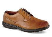 Tan Marvin Street Plain Toe
