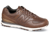 Brown Spikeless Golf Shoe