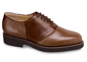 Brown 2-Tone Saddle Oxford