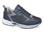 Navy Mesh Athletic Shoe