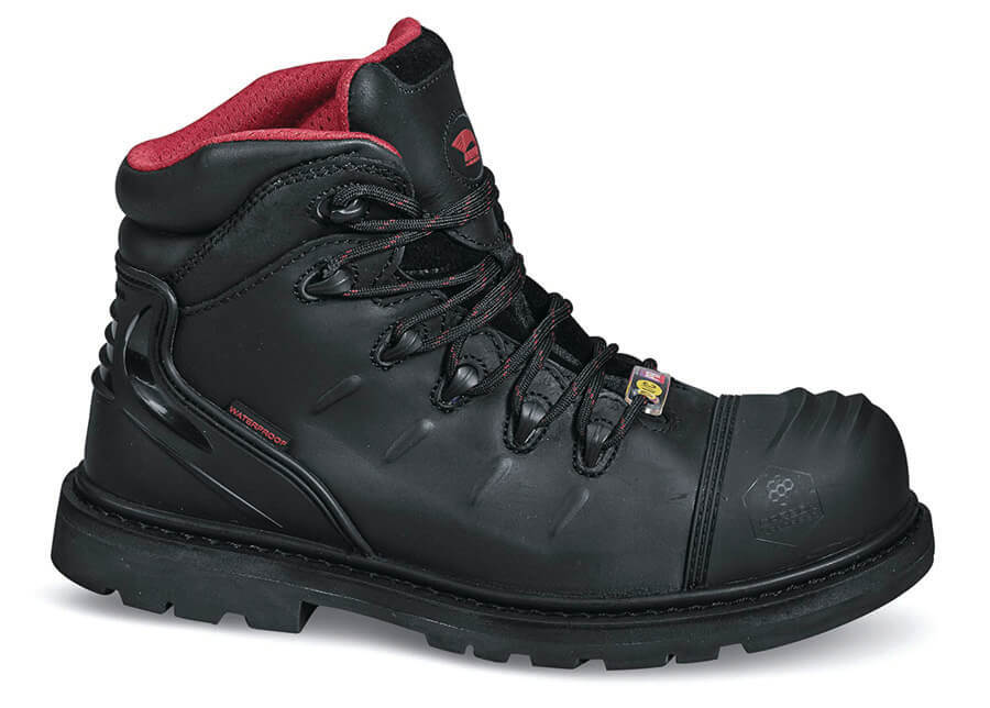 7e4c7c32d1a Black Comp Toe Safety Boot