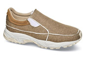 Tan Canvas Sport Slip-on
