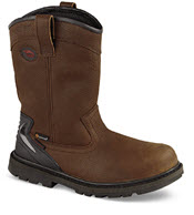 Brown Wellington Work Boot