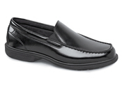 Beacon Street Black Slip-on