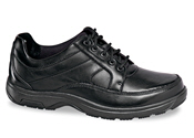 Black Midland 5-eyelet Oxford