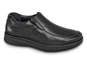 Black Bexley Gore Slip-on