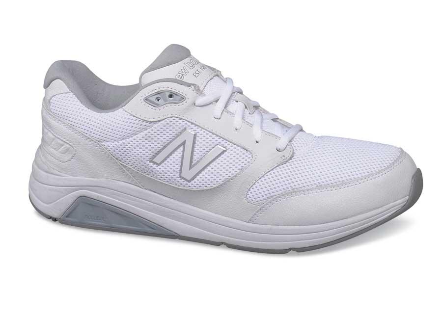 White Mesh 928V2 Walking Shoe