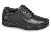Black Toledo 4-eyelet Oxford