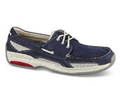 Navy Nubuck Captain Boat Shoe