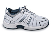 White Tie-less Athletic Shoe