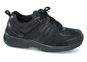 Black Tie-less Athletic Shoe