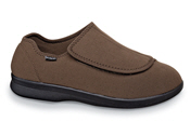 Brown Cush'n Foot Slipper-shoe