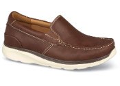 Brown Otis Moccasin Slip-on