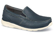 Navy Otis Moccasin Slip-on