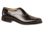 Black Straight Tip Bal Oxford