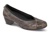 Patsy-AR Taupe Snake Pump