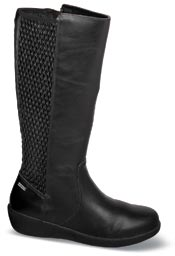 Lillian-AR Black 13 Inch Boot