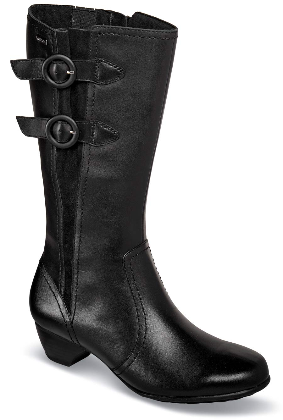 Pauline Black 12 Inch Boot Hitchcock Wide Shoes