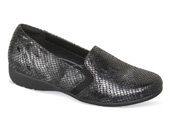 Adalyn-AR Grey Reptile Slip-on