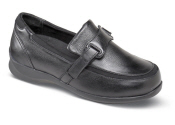 Evelyn Black Stretch Loafer