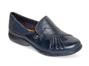 Paulette Navy Slip-on