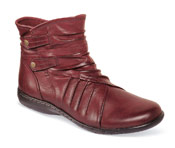Pandora Bordeaux Side Zip Boot