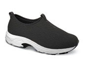 Blast Black Mesh Sport Slip-on